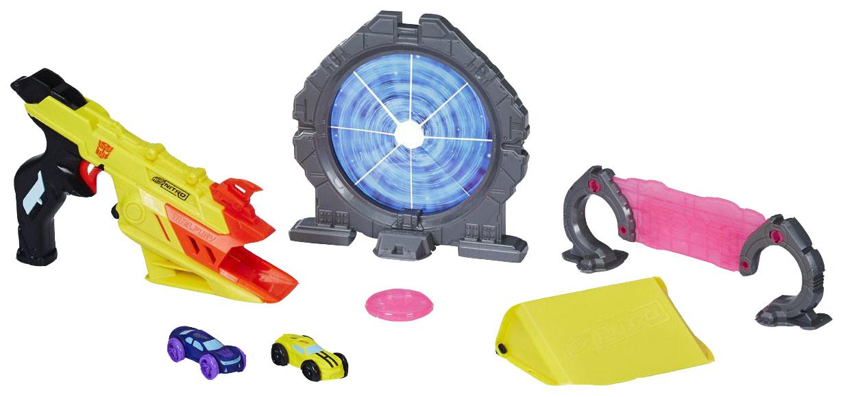 Игровой набор Nerf Nitro Трансформер Бамблби Hasbro