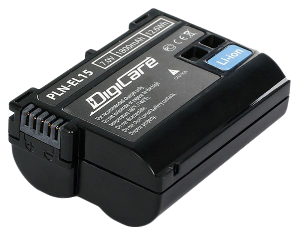 Аккумулятор для цифрового фотоаппарата DigiCare PLN-EL15