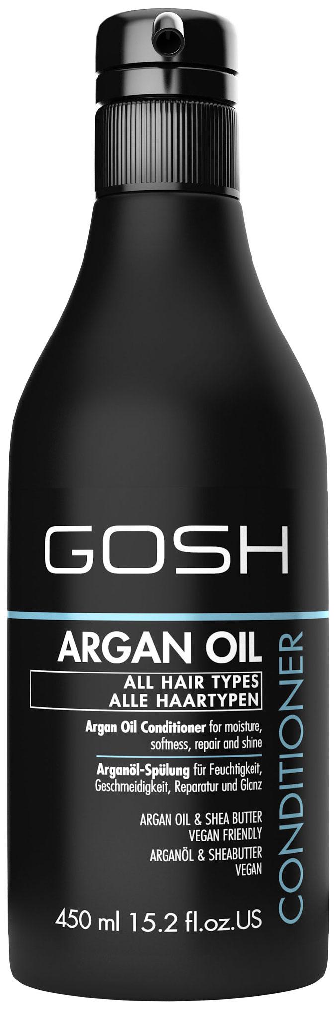 Купить Кондиционер для волос Gosh Argan Oil 450 мл, GOSH COPENHAGEN