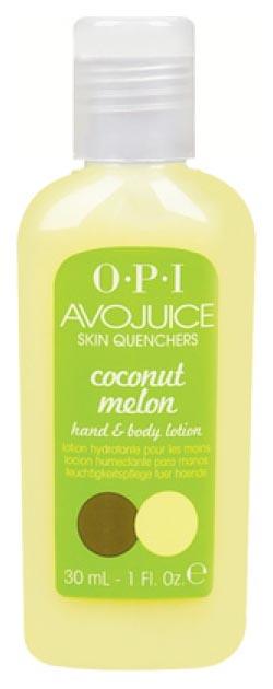 Лосьон для рук O.P.I Avojuice Coconut&Melon