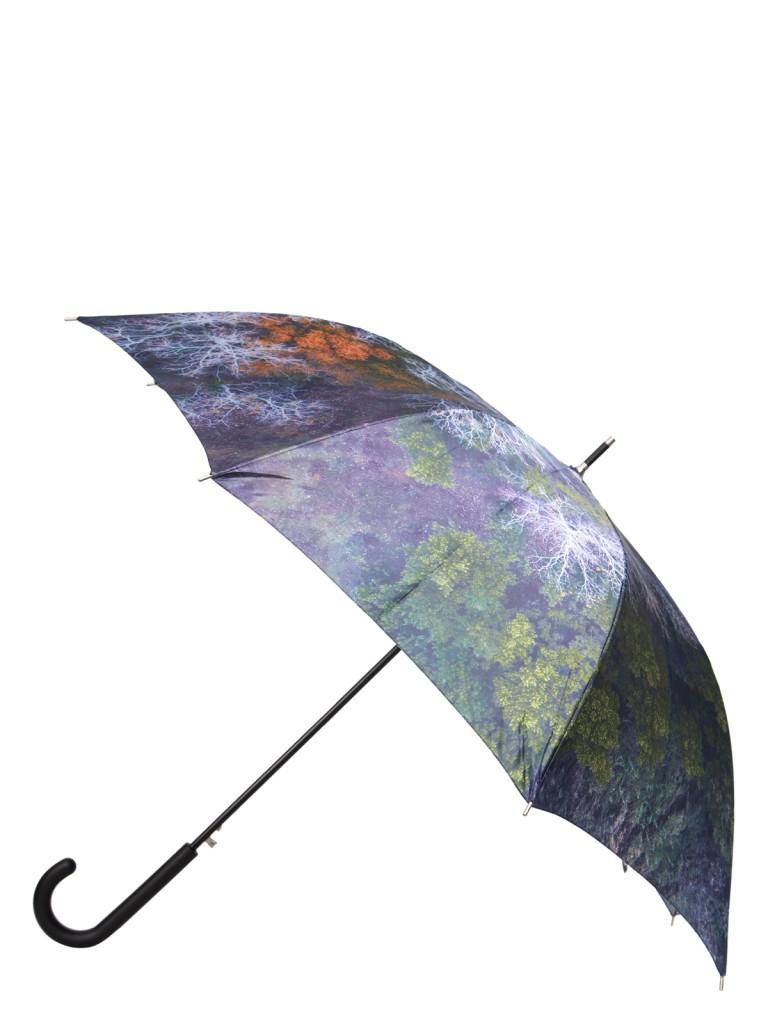 Зонт-трость женский полуавтоматический Eleganzza 01-00029235 черный