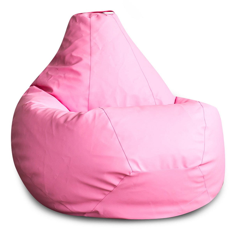 Кресло-мешок DreamBag Кресло-мешок, размер XL, экокожа, белый с рисунком фото