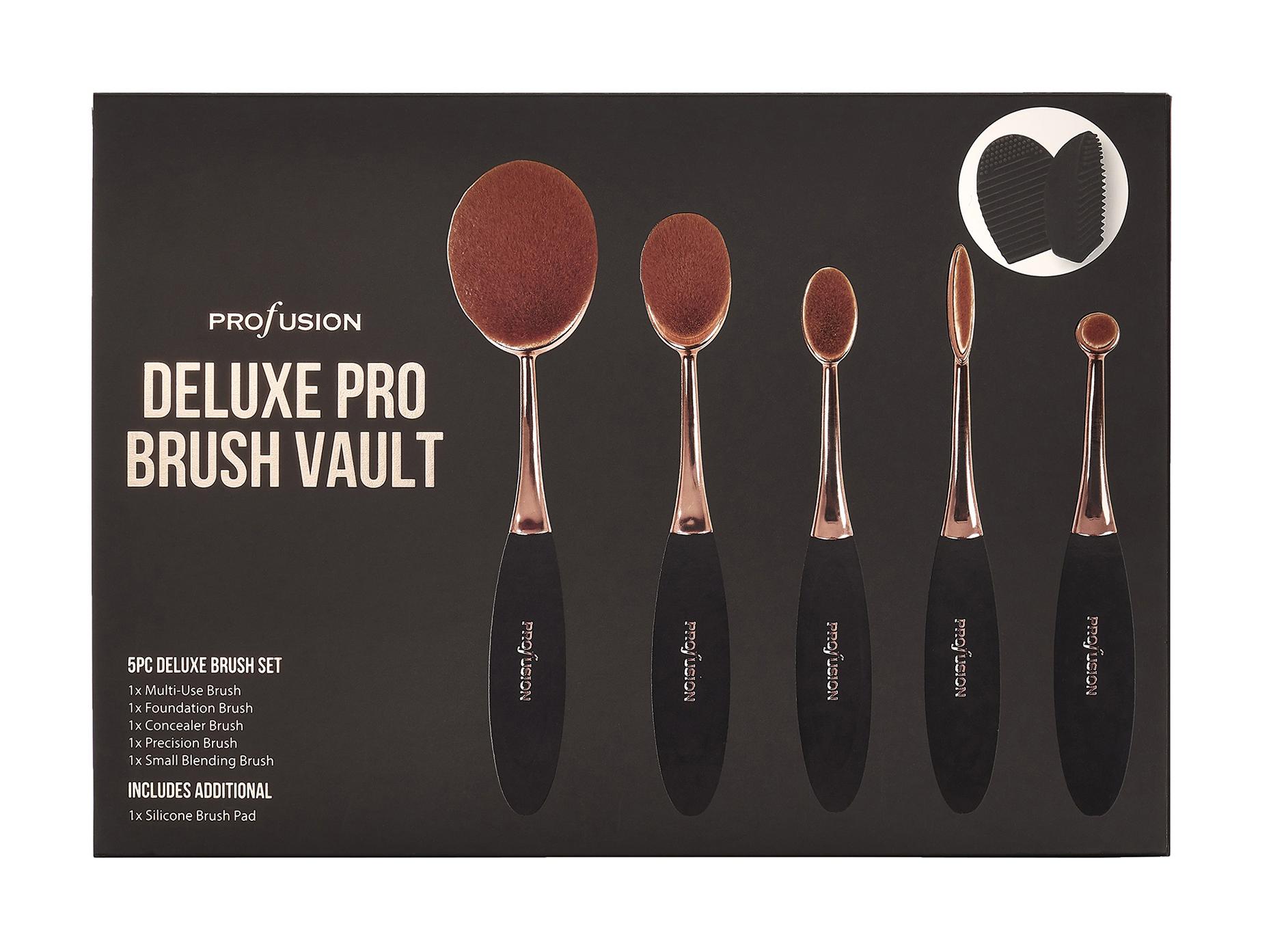 Набор кистей для макияжа Profusion Deluxe Pro Brush