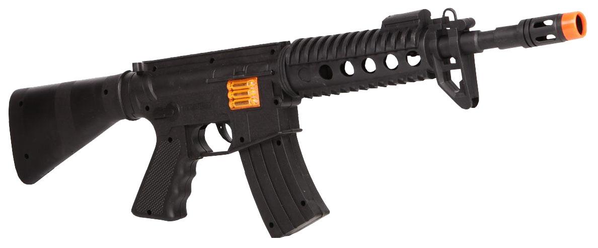 Купить Огнестрельное игрушечное оружие Гратвест Автомат с прицелом 54 см, Gratwest, Стрелковое игрушечное оружие