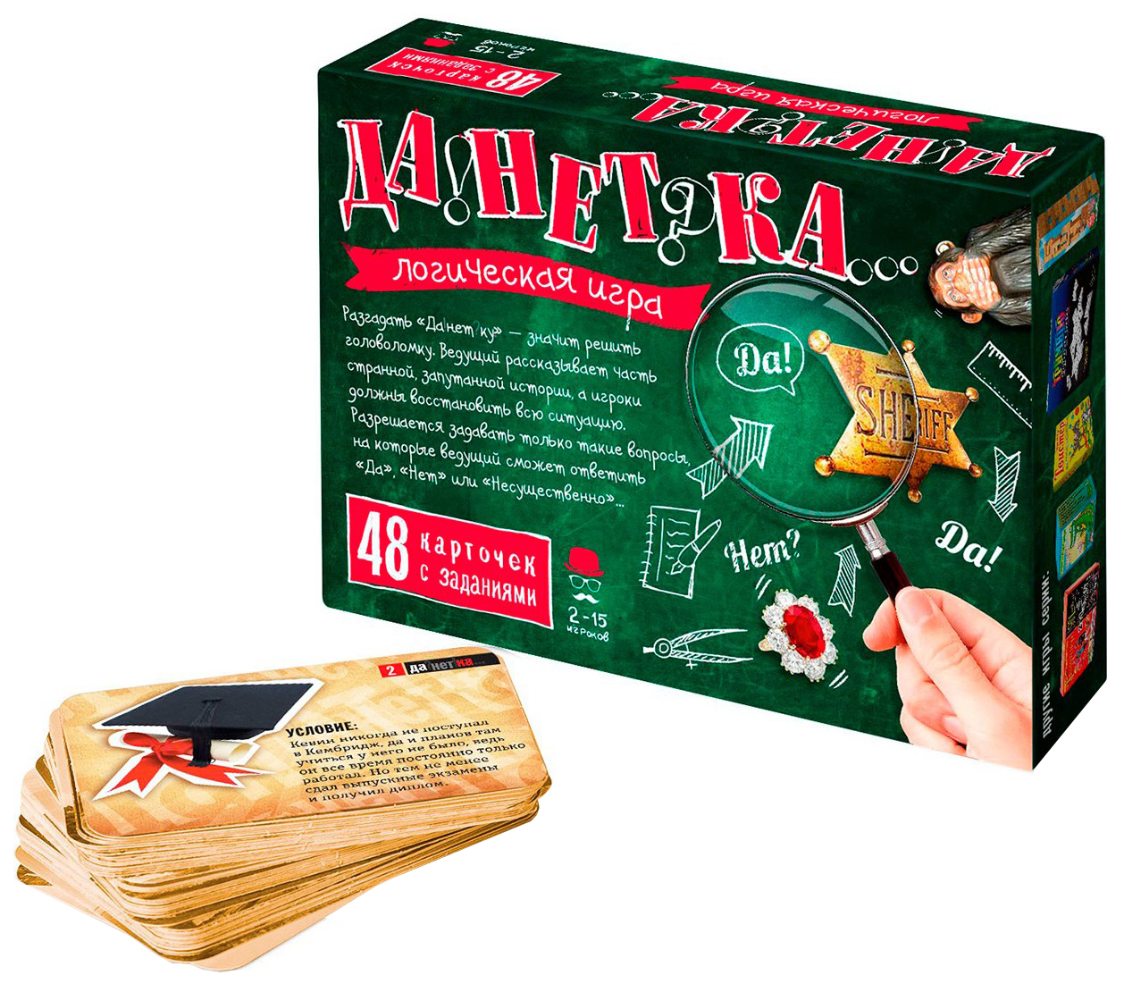 Семейная настольная игра Бэмби ДаНетка