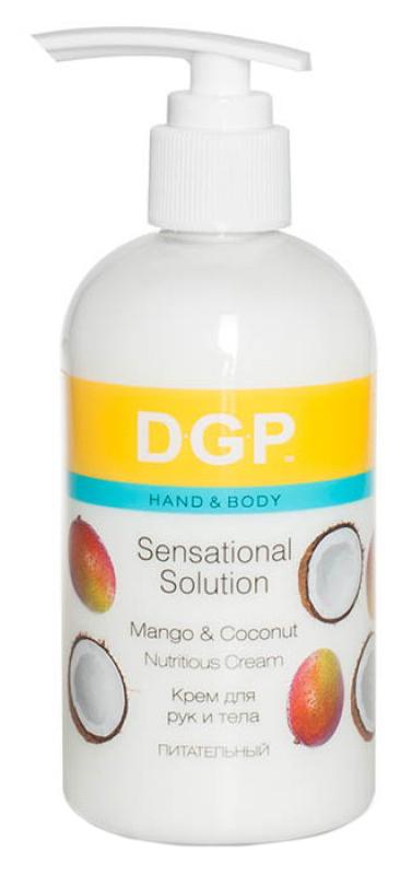 Купить Крем для рук Domix Sensational Solution Питательный Манго и кокос 260 мл, Domix Green Professional