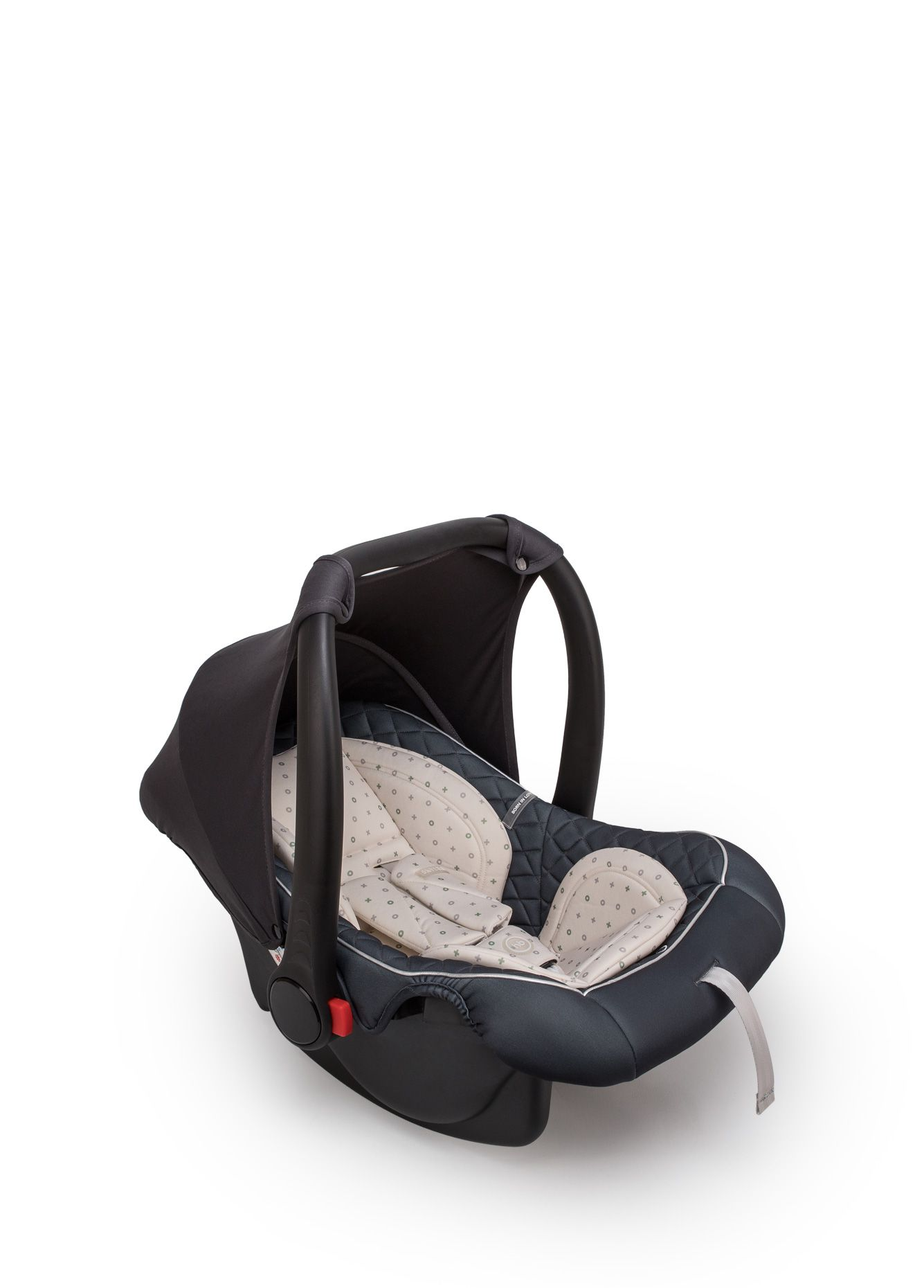 Автокресло Happy Baby SKYLER V2 люлька-переноска Graphite