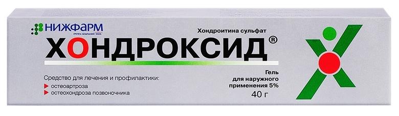 Хондроксид гель гель 5 % 40 г