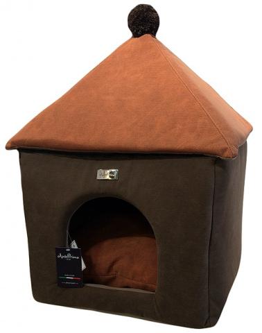Домик для собак Anteprima купол PONMARR01 коричневый