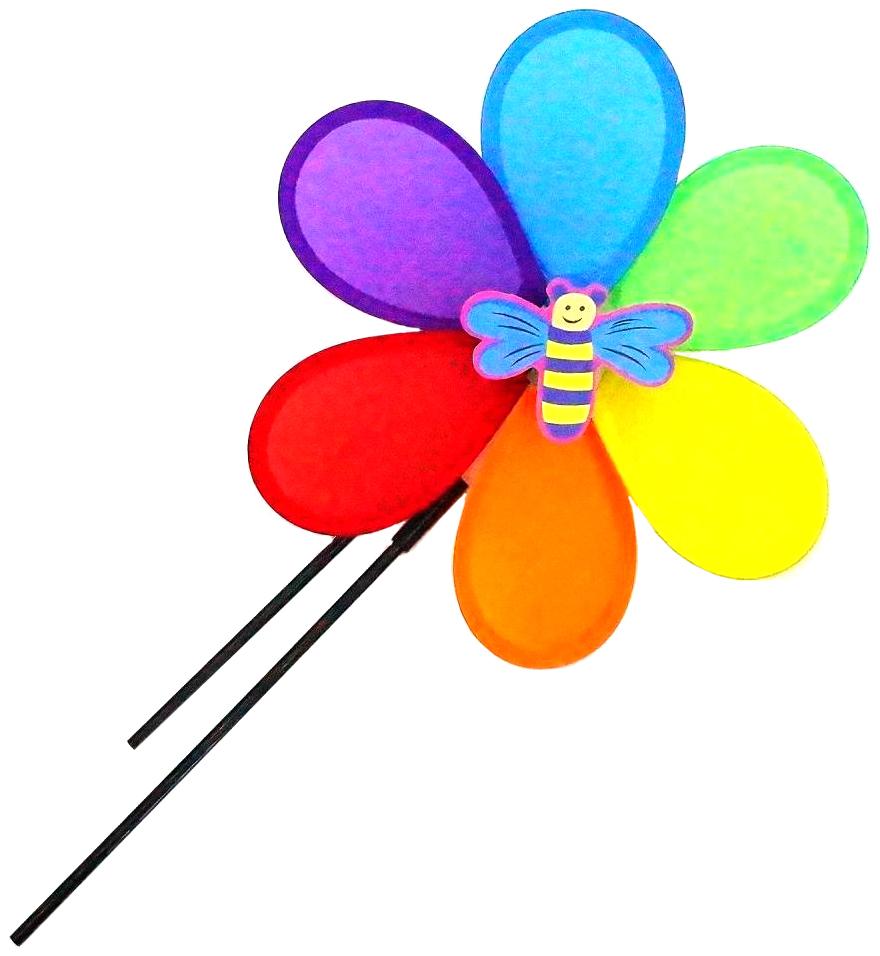 Ветрячок цветок 27 см Shantou Gepai PW27