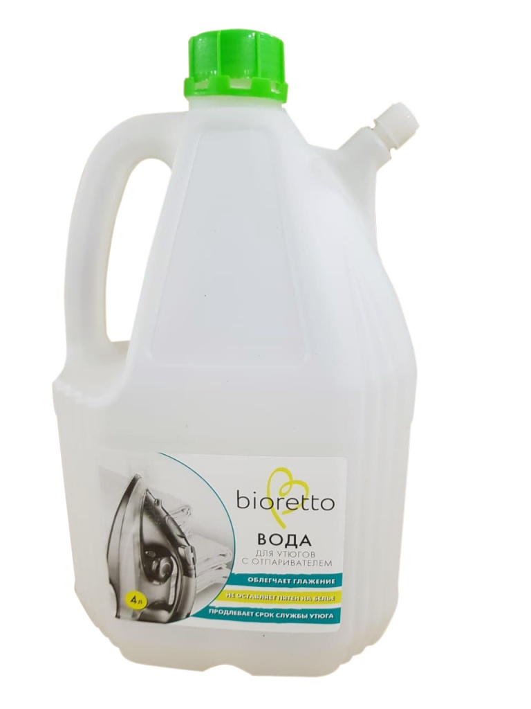 Вода для утюга с отпаривателем Bioretto