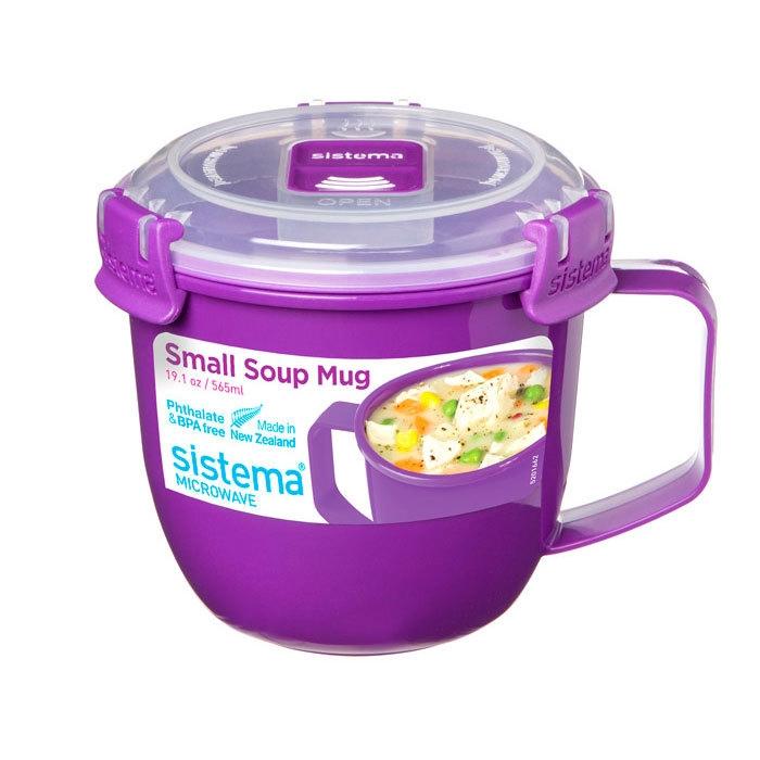 Sistema Кружка суповая Microwave 565 мл