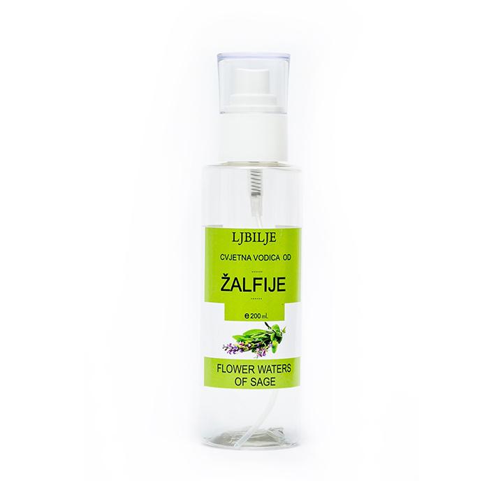 Гидролат Шалфея лекарственного Ljbilje 100% organic 200 мл