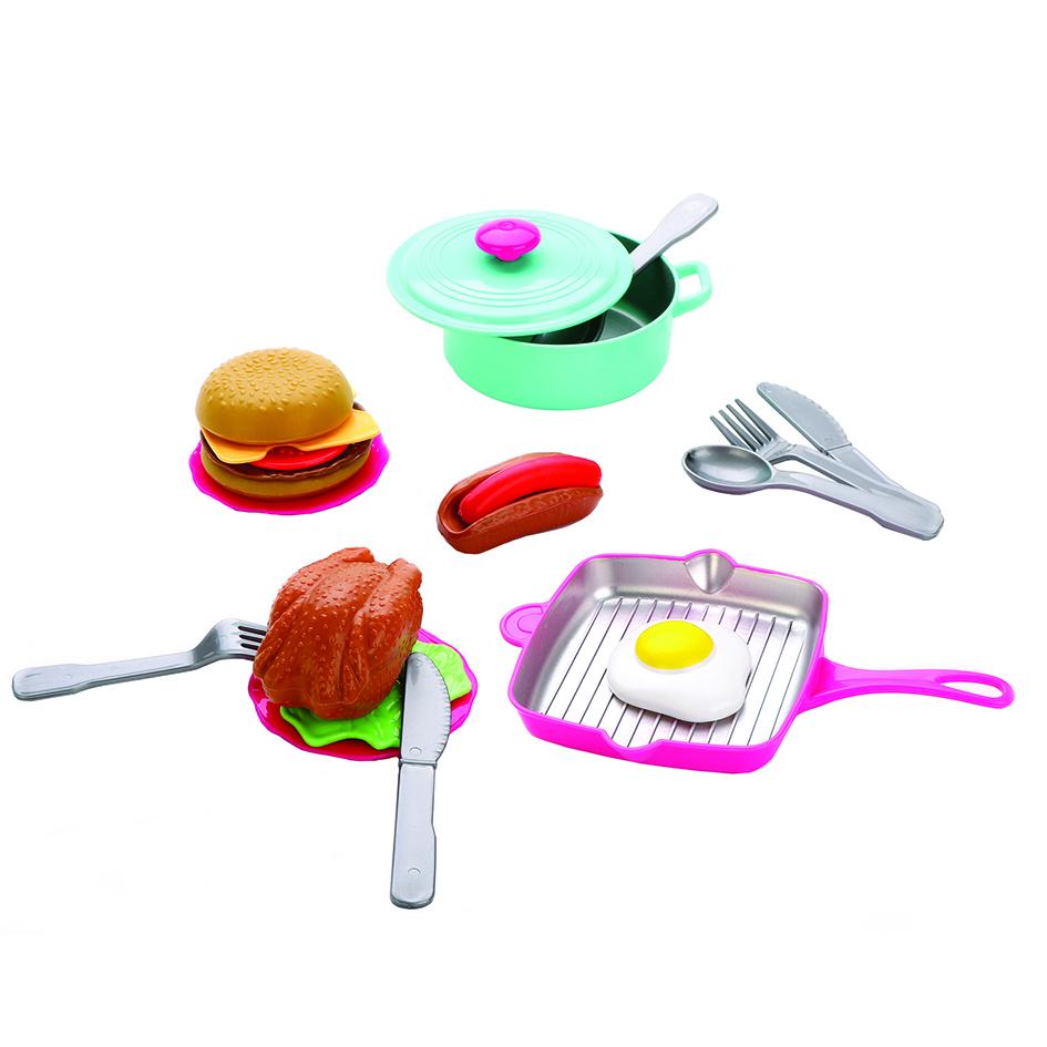 Купить MARY POPPINS Набор посуды и продуктов, 21 предмет 453157,