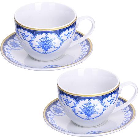 Чайный сервиз LORAINE розовая 28650 2 пер.