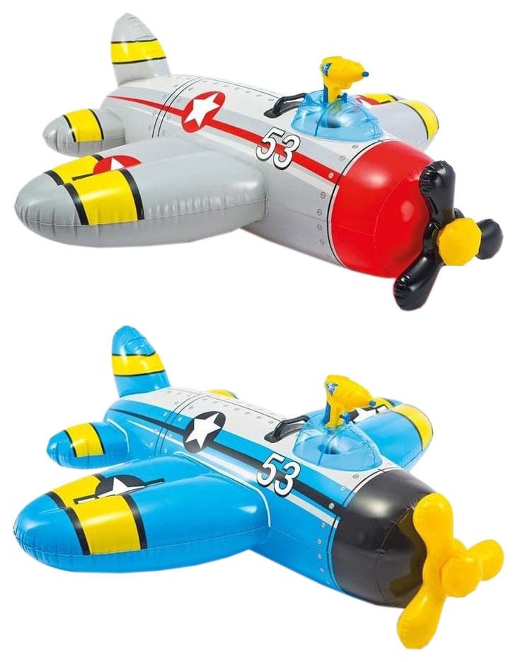 Игрушка надувная Intex Самолет 57537NP с водным