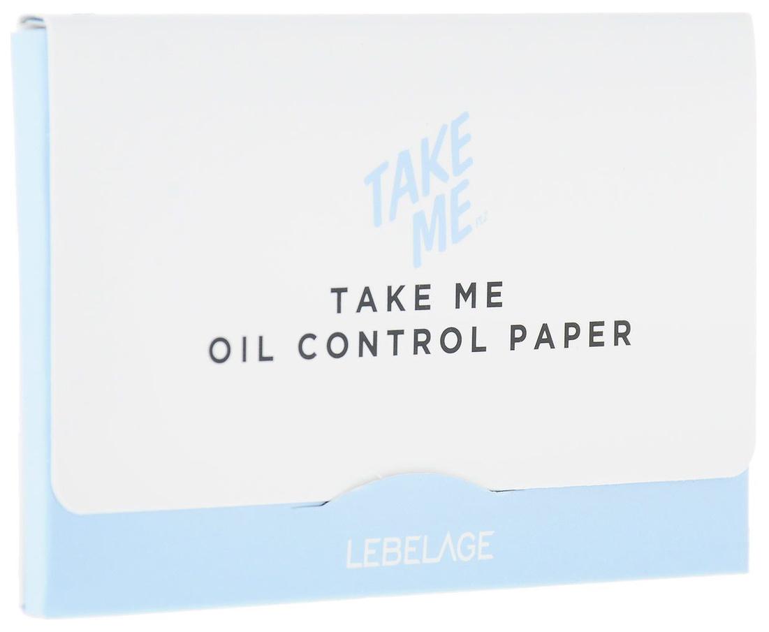 Матирующие салфетки Lebelage Oil Control Paper