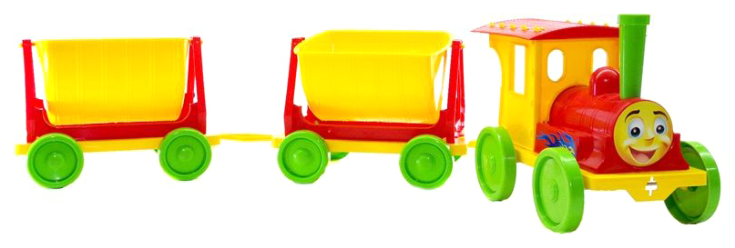 Поезд c двумя прицепами Doloni 013118/3