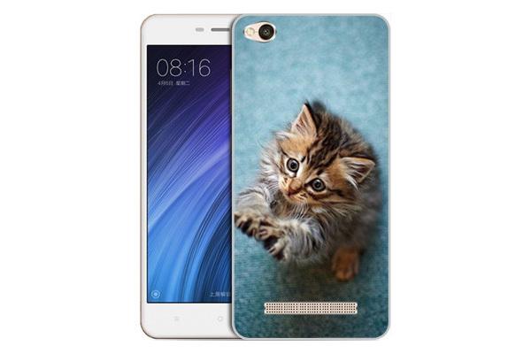 Чехол Gosso Cases для Xiaomi Redmi 4A «Котёнок на голубом»