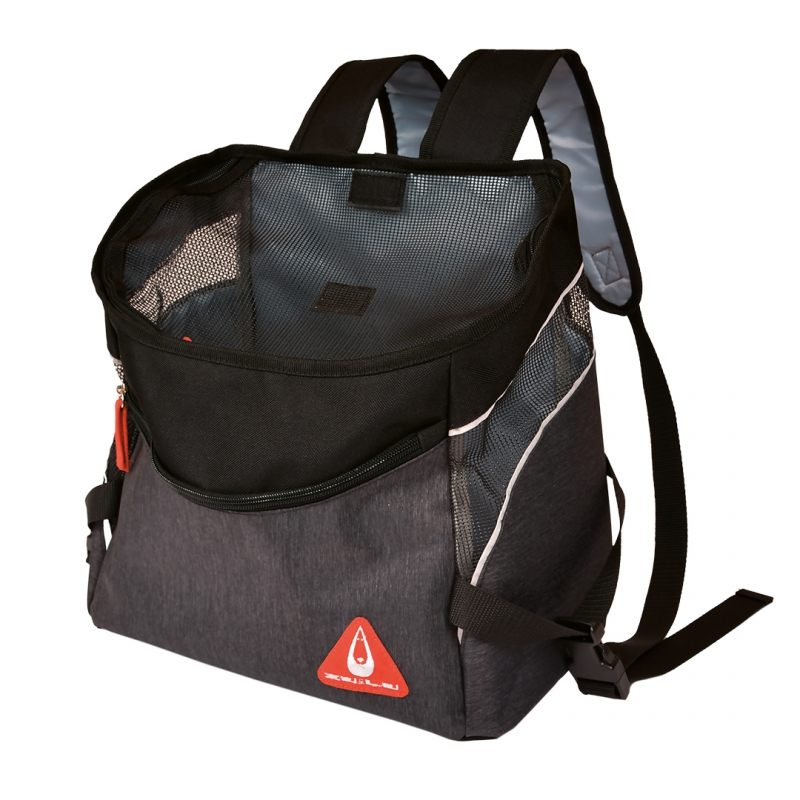 Рюкзак-переноска для животных до 6кг DUVO+ Backpack Sporty, черный, 32,5x19x31см фото