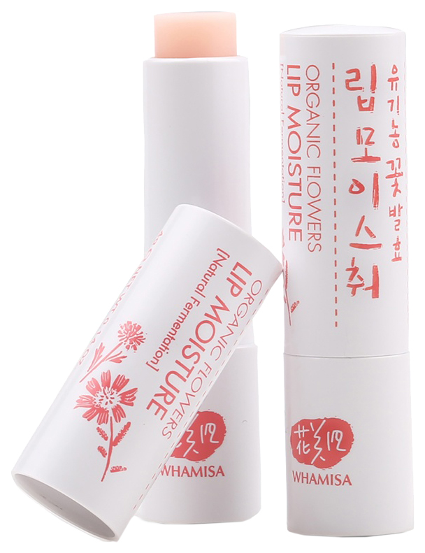 Бальзам для губ Whamisa Organic Flowers Lip Moisture фото