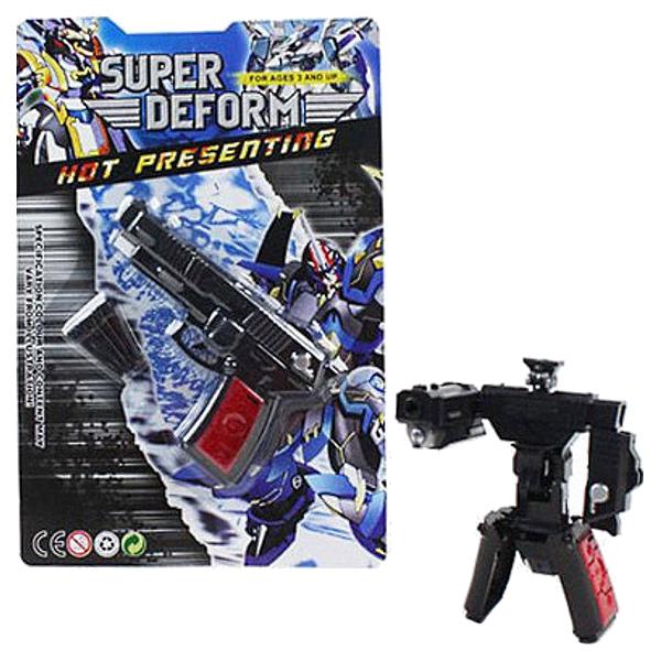 Фигурка Tranformers Shenzhen Toys Super Deform Робот-пистолет G-55-16