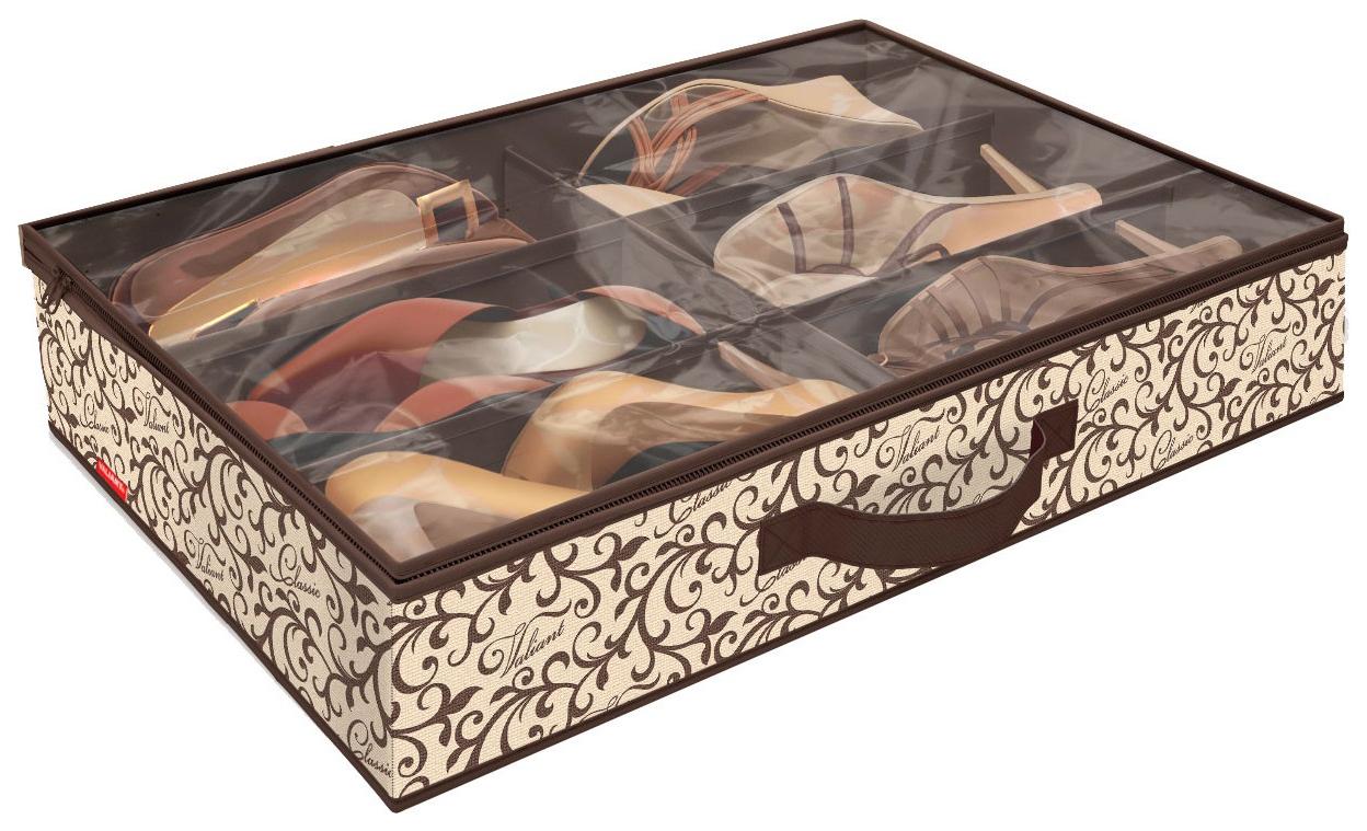 Кофр для хранения обуви Hoff Classic