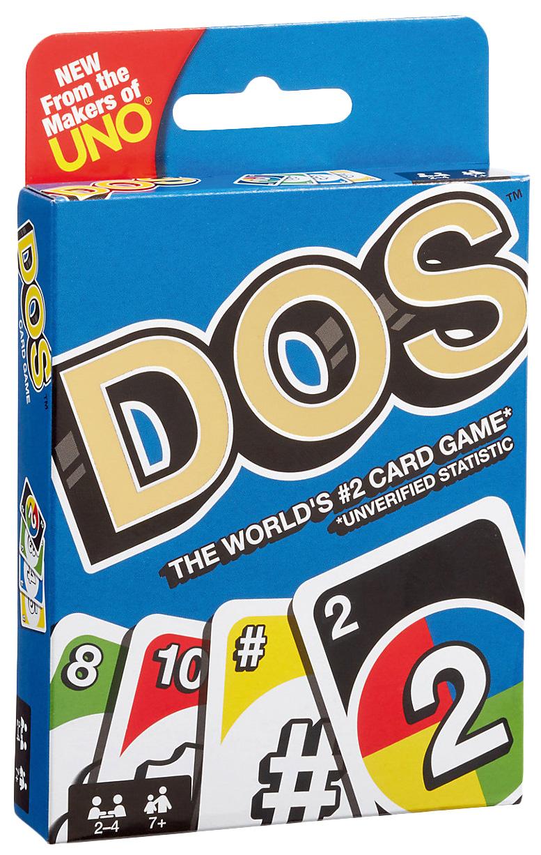 УНО Карточная игра DOS