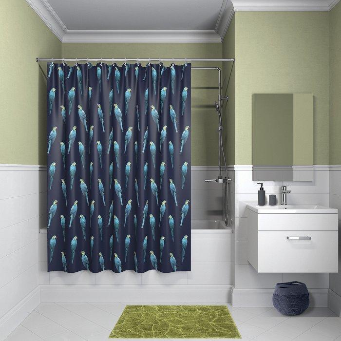 Штора для ванной комнаты IDDIS Basic B08P218i11