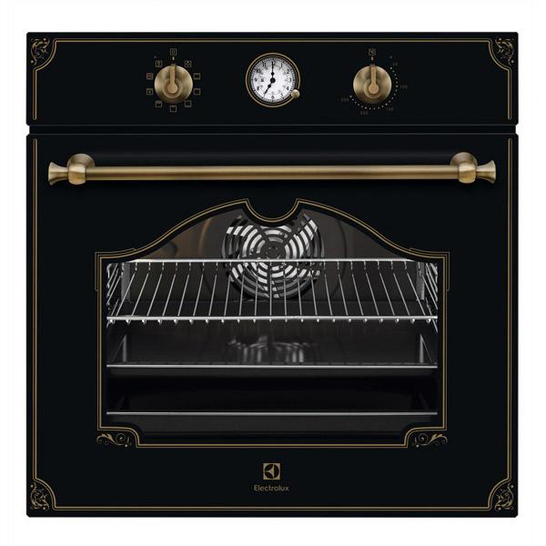 Встраиваемый электрический духовой шкаф Electrolux OPEA2550R Black фото