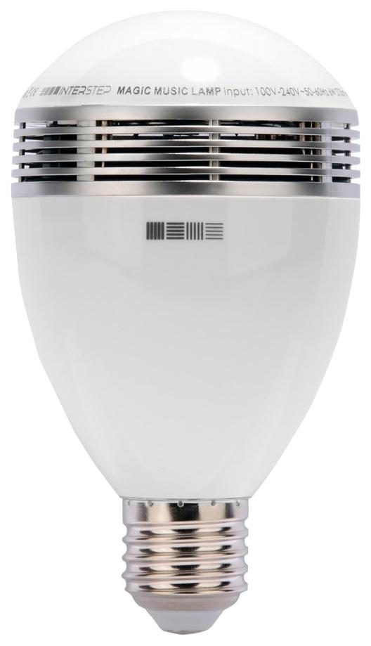 Умная лампа светодиодная с динамиком и управлением