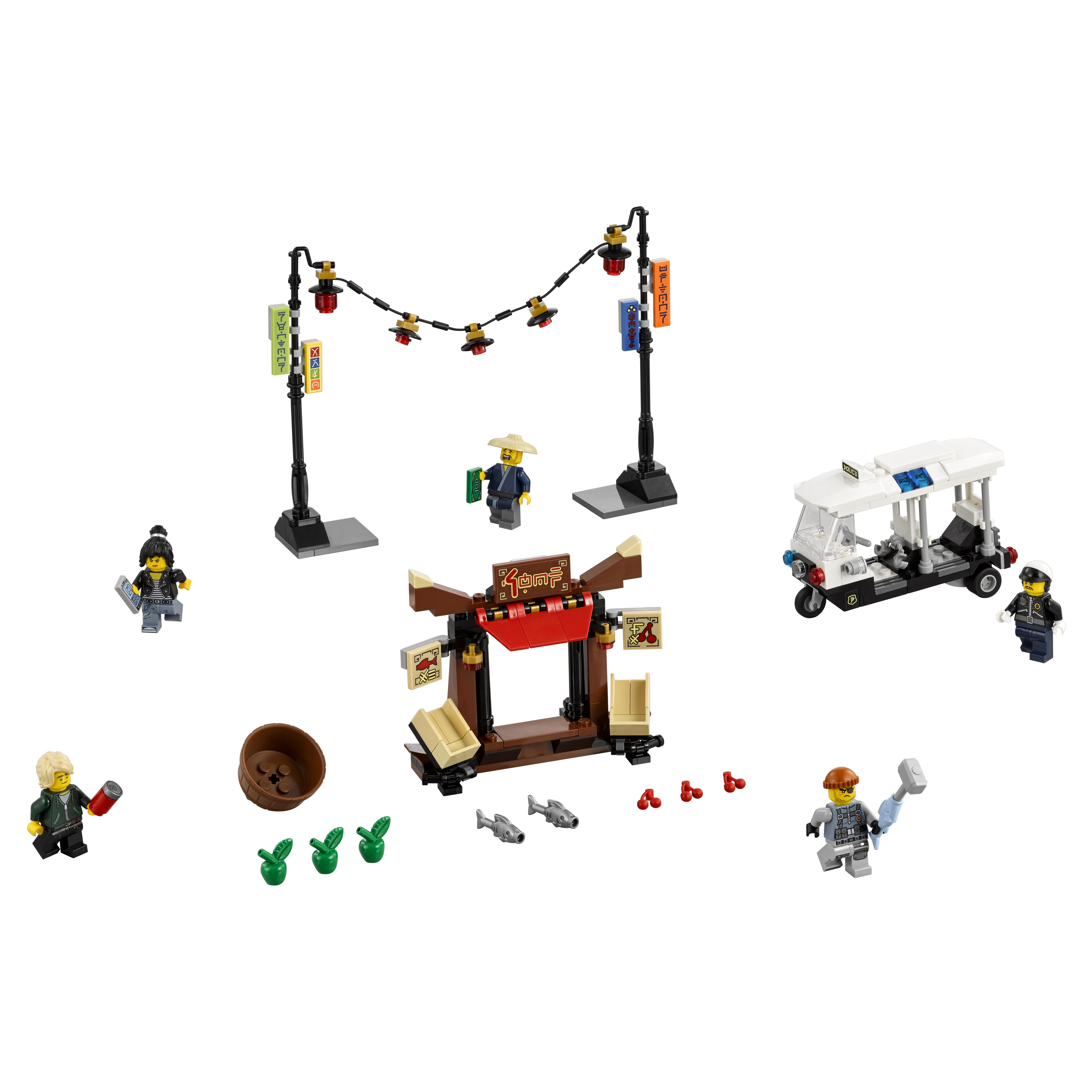 Конструктор LEGO Ninjago Ограбление киоска в НИНДЗЯГО Сити (70607) фото