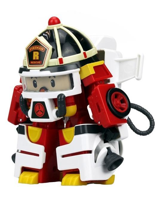 Купить Рой трансформер 10 см + костюм астронавта, Robocar Poli,