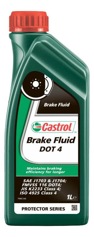 Тормозная жидкость Castrol Brake Fluid DOT4 1л 157D5A фото