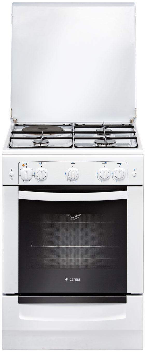 Комбинированная плита GEFEST ПГЭ 6110 01 White