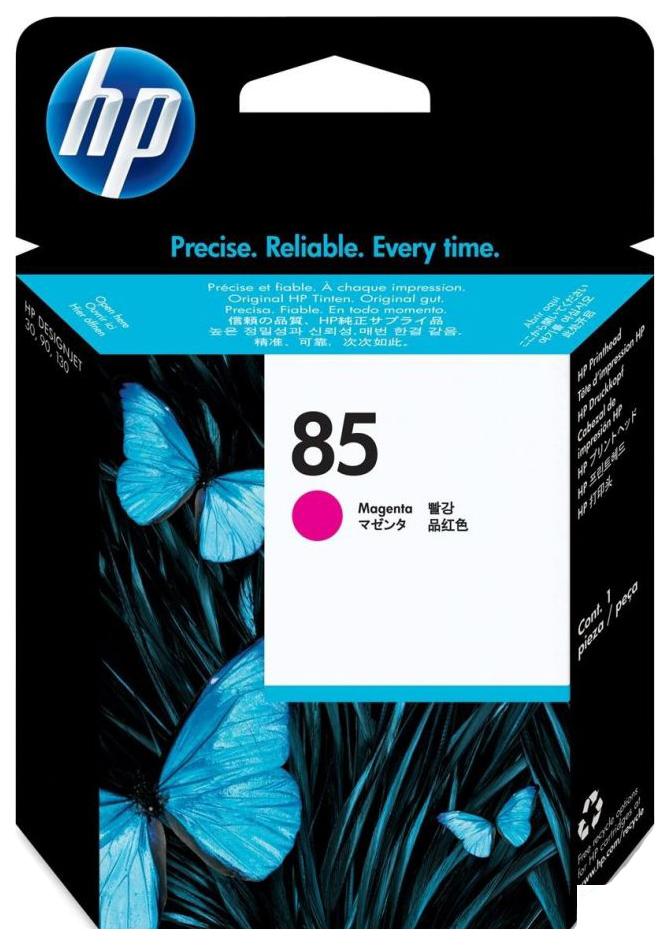 Картридж для струйного принтера HP 85 (C9421A) пурпурный, оригинал