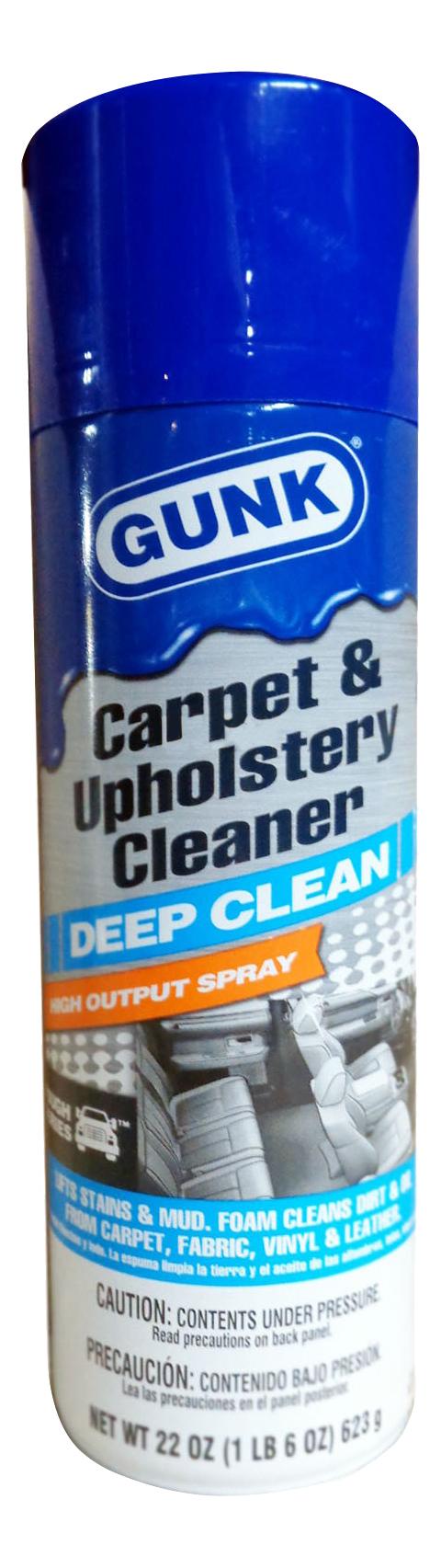 Чистящее средство для внутренней обивки GUNK Carpet #and# Upholstery Cleaner (623гр)