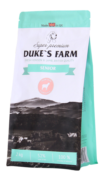 Сухой корм для собак DUKE'S FARM Senior,