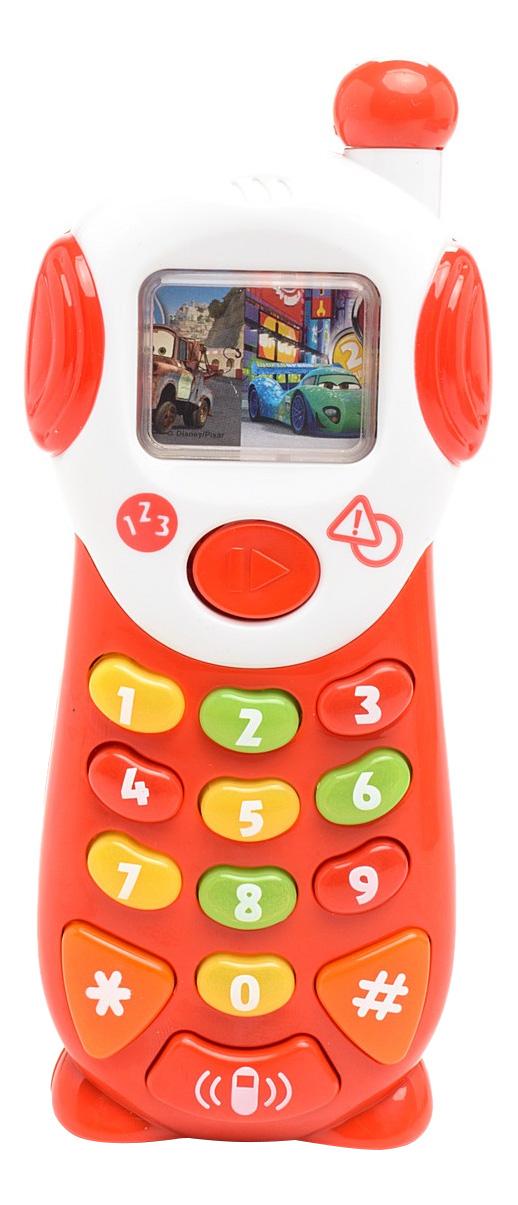 "картинка Интерактивная развивающая игрушка Умка ""Телефон Disney Тачки"" от магазина Bebikam.ru"