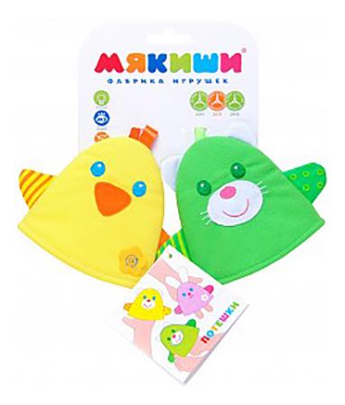 Развивающая игрушка Мякиши Шумякиши Мишка с зайкой