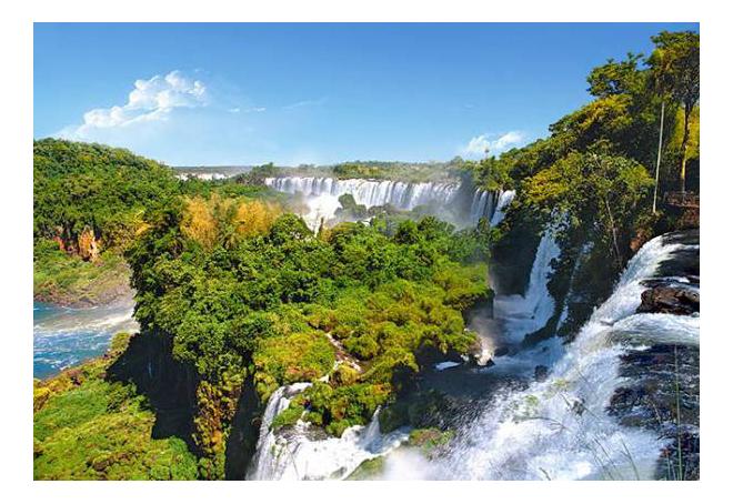 Пазл Castorland Водопад, Аргентина 1000 деталей
