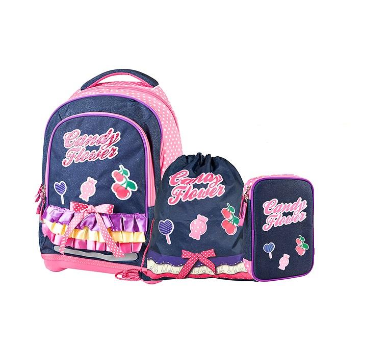 Купить Рюкзак детский Target супер легкий Сладкие цветы 3 в 1,