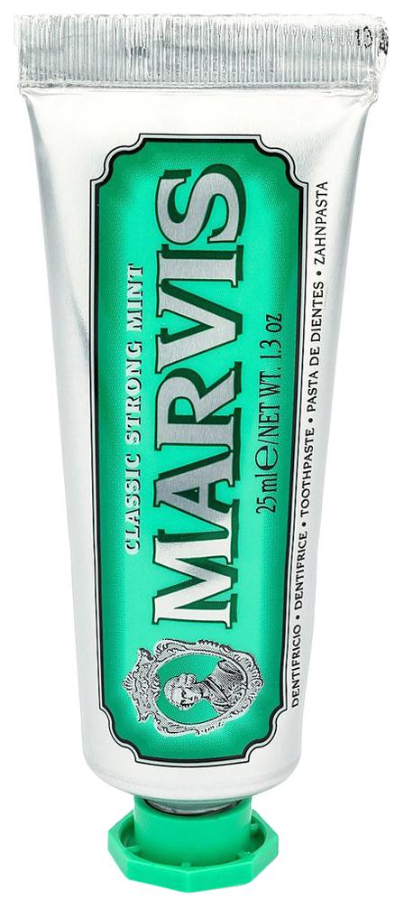 Купить Зубная паста Marvis Классическая Насыщенная Мята 25 мл, классическая Насыщенная Мята