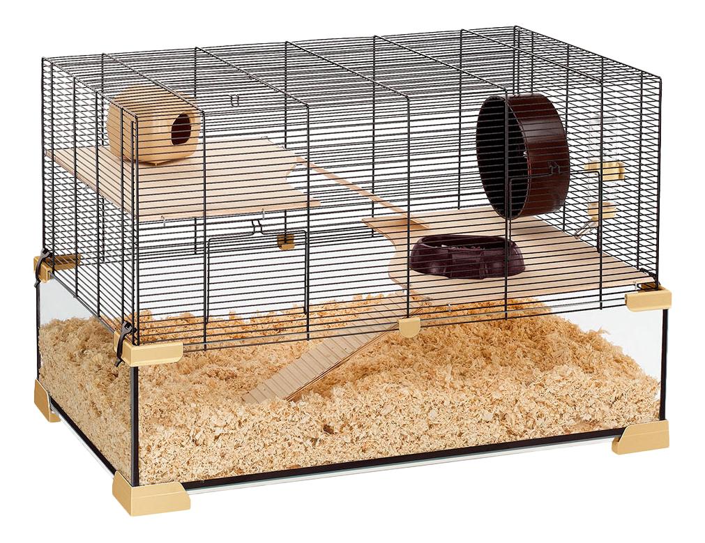 Клетка для мышей, хомяков Ferplast 52.5х45.5х78.5см