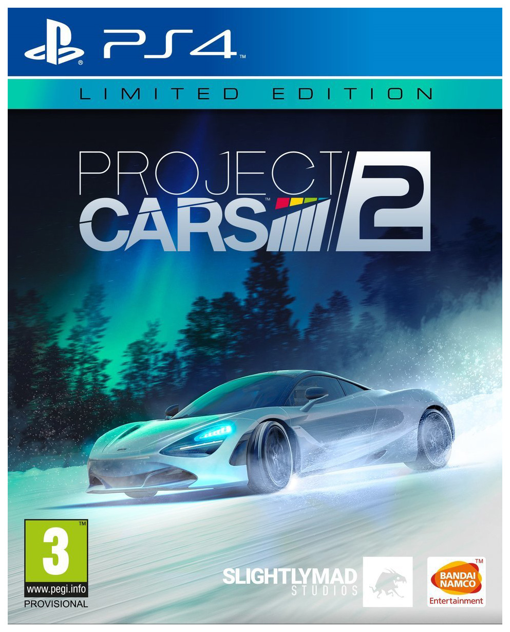 SLIGHTLY MAD STUDIOS PROJECT CARS 2. LIMITED EDITION