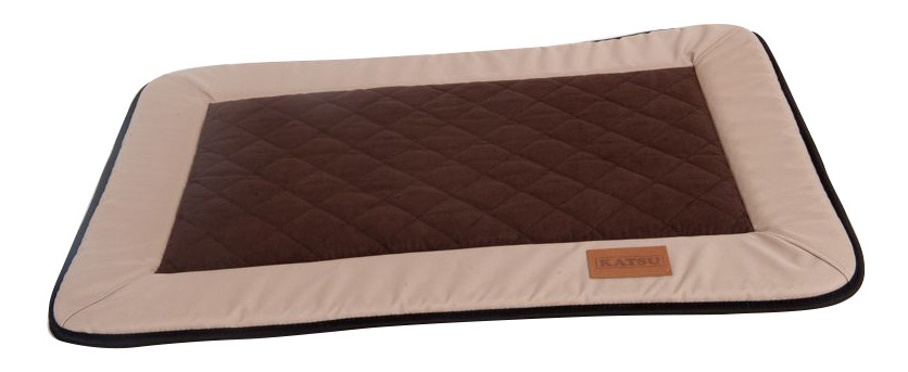 Лежанка для собак Katsu 72x98x бежевый, коричневый