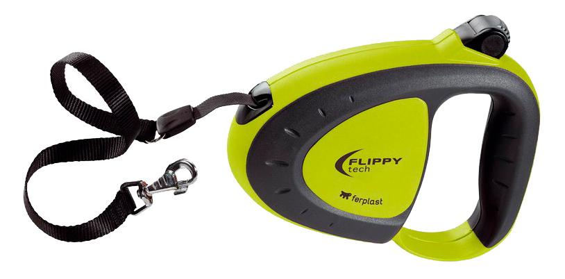 Поводок-рулетка Ferplast Flippy Tech Large, шнур 5 м