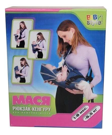 Купить Рюкзак для переноски детей BabyStyle Мася, Baby Style,