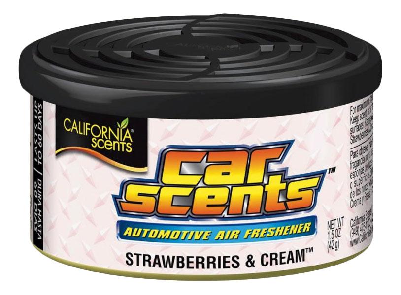 Автомобильный ароматизатор California Scents Сладкий, Клубника со сливками (CCS-301)