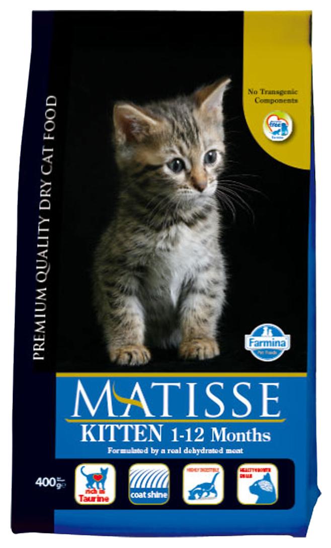 Сухой корм для котят Farmina Matisse Kitten, курица, 0,4кг
